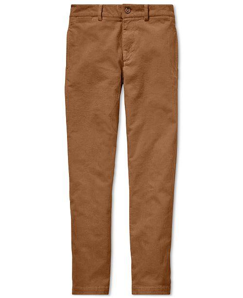 c39e76bcfb757d Polo Ralph Lauren Big Boys Slim Fit Stretch Corduroy Pants ...