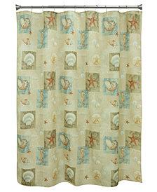 Multi-Bacova Ocean-Shower Curtain