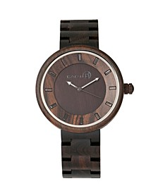 Branch Wood Bracelet Watch Brown 45Mm