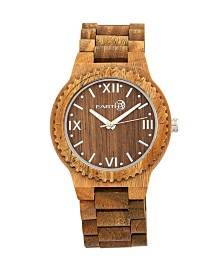Earth Wood Bighorn Wood Bracelet Watch Olive 46Mm