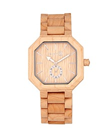 Acadia Wood Bracelet Watch Khaki 43Mm