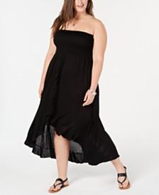 Raviya Plus Size Tube Dress Cover-Up
