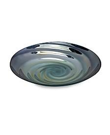 Imax Moody Swirl Glass Charger