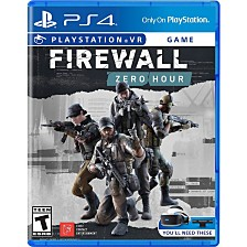 PS4 Psvr Firewall Zero Hour
