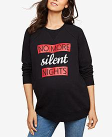 Motherhood Maternity French Terry Graphic Sweatshirt