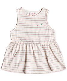 Roxy Little Girls Striped Cotton Tank Top
