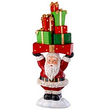 "National Tree 30"" Santa Holding Gifts"