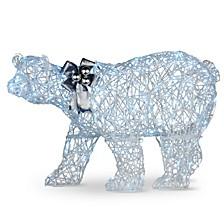 "27"" Pre-lit Polar Bear Decoration"