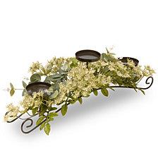 """National Tree Company 25"""" Dill Blossom Candleholder"""