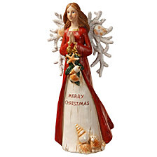 "National Tree 12"" Polyresin Angel"
