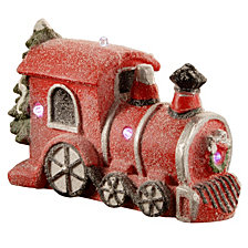 "National Tree 11"" Train with Battery Operated LED Lights"