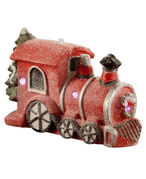 """National Tree Company National Tree 11"""" Train with Battery Operated LED Lights"""