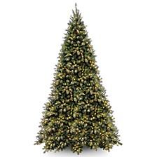 National Tree Tiffany Medium Fir Tree With 1400 Clear Lights
