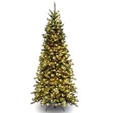 National Tree 6 .5' Tiffany Fir Slim Tree with 400 Clear Lights
