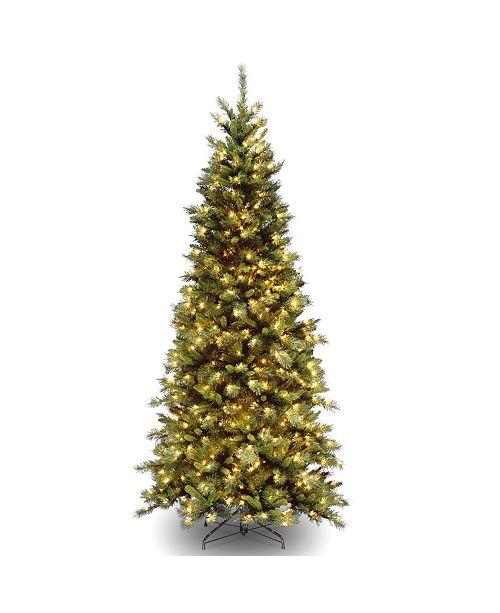 National Tree Company National Tree 6 .5' Tiffany Fir Slim Tree with 400 Clear Lights