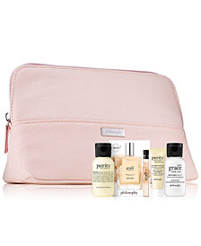 Receive a FREE 5-pc Macy's Exclusive gift with any $50 philosophy purchase!