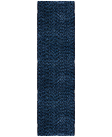 """Orian Cotton Tail Solid 2'3"""" x 8' Area Rug"""
