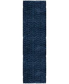 "Jennifer Adams  Cotton Tail Solid 2'3"" x 8' Area Rug"