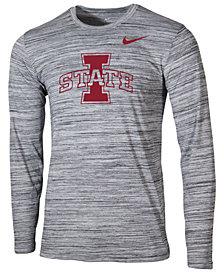 Nike Men's Iowa State Cyclones Legend Travel Long Sleeve T-Shirt