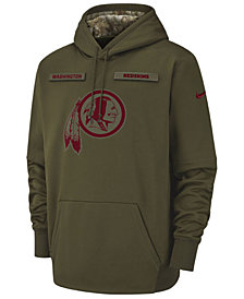 Nike Men's Washington Redskins Salute To Service Therma Hoodie