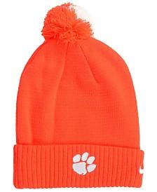 Nike Clemson Tigers Beanie Sideline Pom Hat
