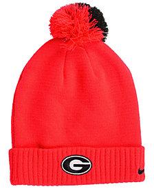 Nike Georgia Bulldogs Beanie Sideline Pom Hat