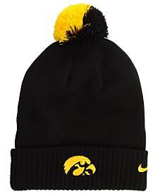 Nike Iowa Hawkeyes Beanie Sideline Pom Hat