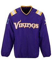 e9fdc23e8 G-III Sports Men s Minnesota Vikings Countback Pullover Jacket