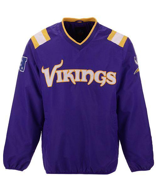 newest 2e111 dc1b5 Men's Minnesota Vikings Countback Pullover Jacket