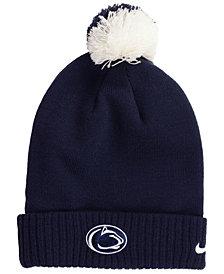 Nike Penn State Nittany Lions Beanie Sideline Pom Hat