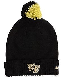 Nike Wake Forest Demon Deacons Beanie Sideline Pom Hat