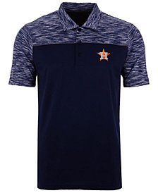 Antigua Men's Houston Astros Final Play Polo