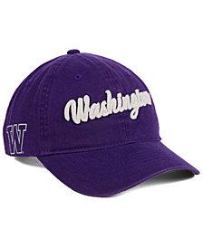 Zephyr Washington Huskies Scroll Adjustable Strapback Cap