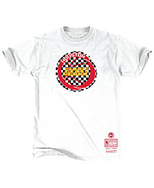 Mitchell & Ness Men's Houston Rockets Checkerboard Hook T-Shirt