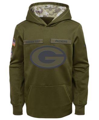 green bay packers salute to service sweatshirt