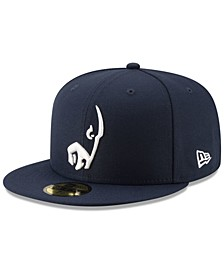 Los Angeles Rams Logo Elements Collection 59FIFTY FITTED Cap
