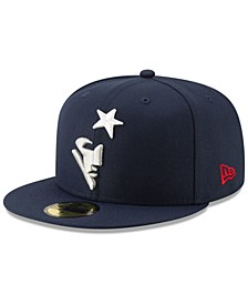 New England Patriots Logo Elements Collection 59FIFTY FITTED Cap