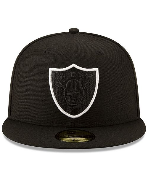 ... New Era Oakland Raiders Logo Elements Collection 59FIFTY FITTED Cap ... 80278e34d8a