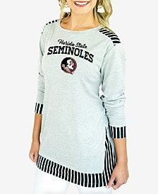 Gameday Couture Women's Florida State Seminoles Striped Panel Long Sleeve T-Shirt