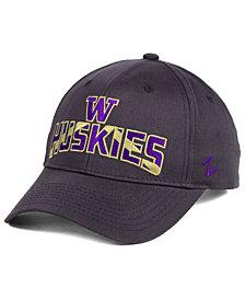 Zephyr Washington Huskies Core Staple Adjustable Snapback Cap