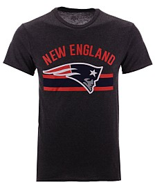 Authentic NFL Apparel Men's New England Patriots Checkdown T-Shirt
