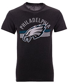 Authentic NFL Apparel Men's Philadelphia Eagles Checkdown T-Shirt