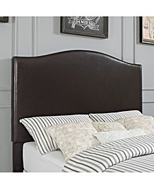 Bellingham Camelback Upholstered Full And Queen Headboard In Leatherette