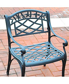 Sedona Cast Aluminum Arm Chair (Set Of 2)