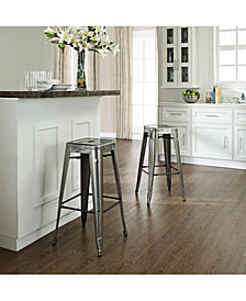 Amelia Metal Cafe Barstool (Sold In Pairs)