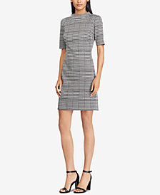 American Living Houndstooth Jacquard Dress