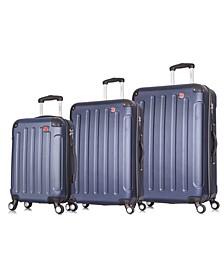 Intely 3-Pc. Hardside Tech Luggage Set