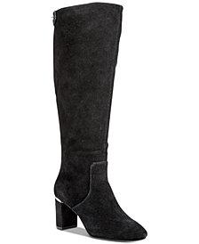 Alfani Women's Nessii Step 'N Flex Wide-Calf Dress Boots, Created for Macy's