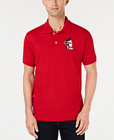 Lacoste Men's Disney Mickey Mouse Striped Polo