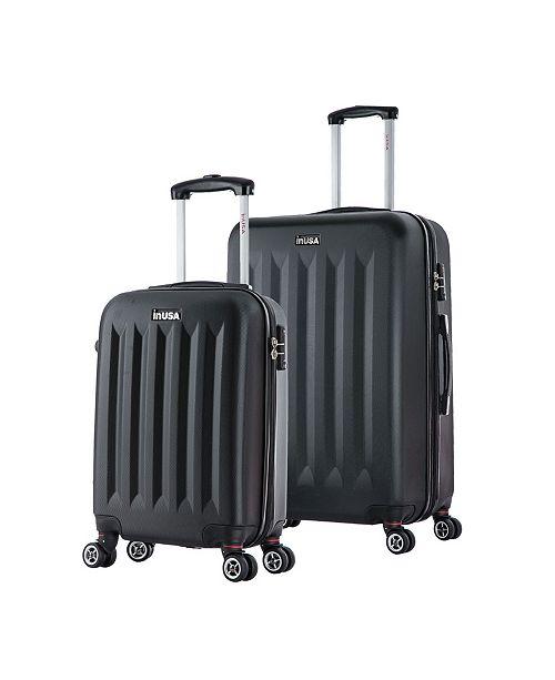 InUSA Philadelphia 2-Pc. Lightweight Hardside Spinner Luggage Set